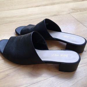 Nine West Shoes - Leather Nine West Size 6 Sandals